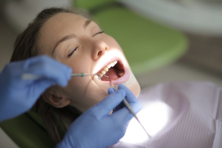 En sund mund er vigtig for en sund krop